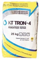 КТтрон–4 МФ Быстротвердеющий безусадочный литьевой состав,  содержащий